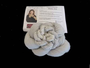Artyarns Gemstone Mitts Kit - Silver