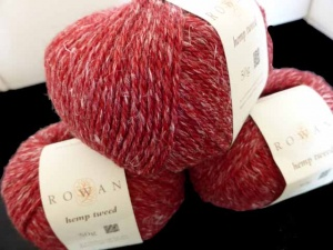 Rowan Hemp Tweed #143, Paprika
