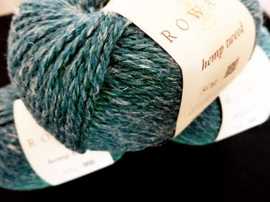 Rowan Hemp Tweed #131, Teal