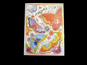 Laurel Burch ''Imagine'' Any Occasion Card