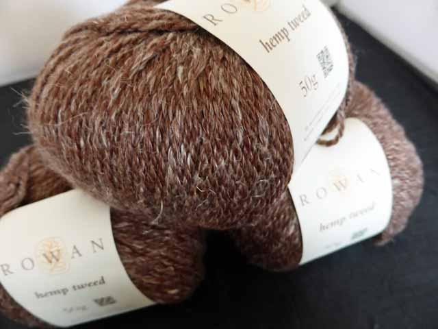 Treacle Rowan Hemp Tweed 134 hemp tweed