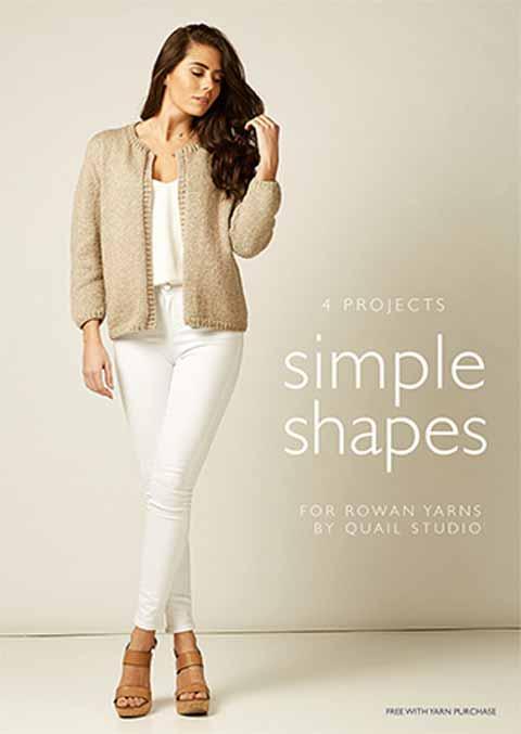 c3386e1007bb Rowan Simple Shapes in Softyak DK by Quail Studio