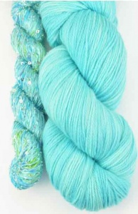 Artyarns Lazy Days Shawl Kit - Aqua