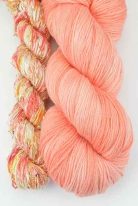 Artyarns Lazy Days Shawl Kit - Peach