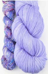 Artyarns Lazy Days Shawl Kit - Purple