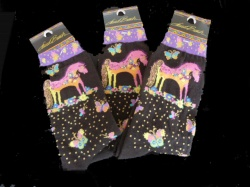 Laurel Burch Mythical Mares Socks
