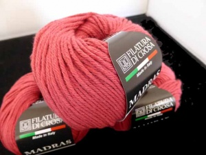 Filatura di Crosa Madras #19, Deep Rose