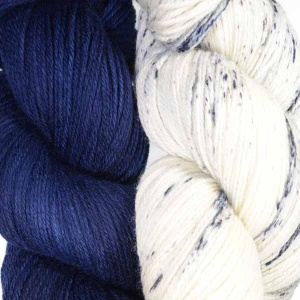 Artyarns Night Shift Shawl Kit in Navy