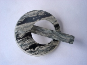 Pollika Mini Granite Shawl Pin