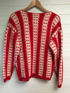 Heavyweight Nordic Style Fair Isle Sweater