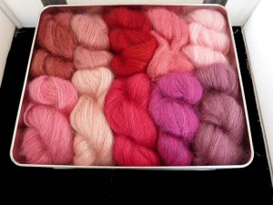 Artyarns Silk Mohair Blanket / Shawl Kit - Roses Colour Way