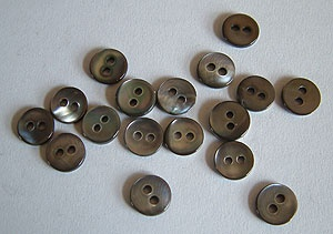 Rowan Small Smoke Mother of Pearl Buttons #332