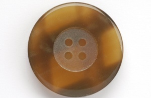 Rowan Tortoise Shell Toffee Button