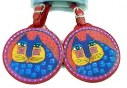 Laurel Burch Sanchez Luggage Tags