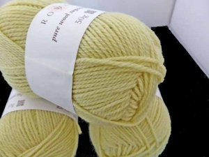 Rowan Pure Wool Superwash DK #115, Lemon Grass