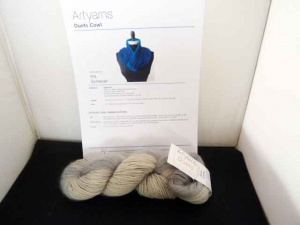 Artyarns Duets Cowl Kit in Silver Lining