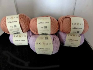 Rowan Softknit Cotton  - 7 Mixed Balls