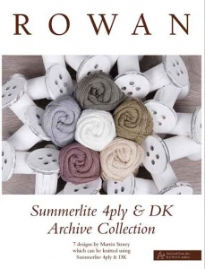 Rowan Summerlite 4 Ply and DK Archive Collection