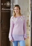 Rowan Alessandra Sweater in Kidsilk Haze