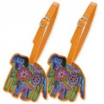 Laurel Burch Azul & Azulita Luggage Tags