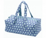 Milward Knitting Bag - Blue Polka Dot