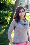Brooklyn Tweed Anais Cowl Neck Pullover