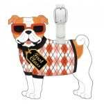 Bull Dog Luggage Tag