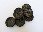 Large Coconut Shell Buttons