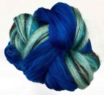 Artyarns Drama Queen Shawl Kit - Blue