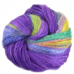 Artyarns Drama Queen Shawl Kit - Purple