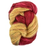 Artyarns Drama Queen Shawl Kit - Red