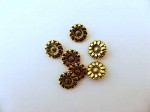''Gold'' Sunflower Buttons