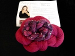 Artyarns Gemstone Mitts Kit -Ruby