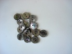 Jaeger Small Grey Pearl Buttons #J1002