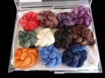 Artyarns Kaleidoscope Cashmere Shawl Kit - Jewels Colour Way