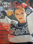 Knitting With Style 1988 Pattern Book
