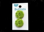 La Mode Green Damask Buttons
