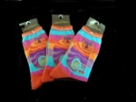 Laurel Burch Rainbow Cat Socks