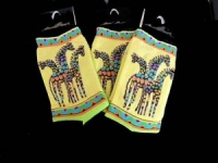 Laurel Burch Giraffe Socks