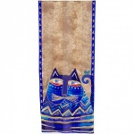 Laurel Burch Azul Silk Scarf