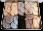 Artyarns Silk Mohair Blanket / Shawl Kit - Naturals Colour Way