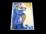 Laurel Burch ''Ocean Song'' Any Occasion Card