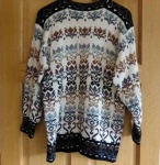 Hand Knitted Rachel Grimmer Long Line Sweater