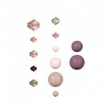 Swarovski Rose Bead and Crystal Selection