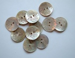 Rowan Large Engraved Shell Buttons #418