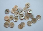 Rowan Small Engraved Shell Buttons #416
