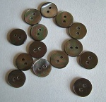 Rowan Small Grey Pearl Buttons #315