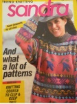 Sandra Knitting Magazine February 1990