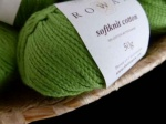 Rowan Softknit Cotton #579, Dark Lime