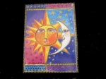 Laurel Burch ''Sister Sun, Brother Moon'' Any Occasion Card
